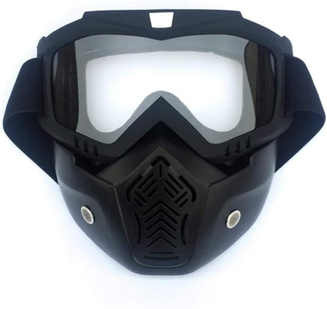 Woodtree Máscara de la Motocicleta, Gafas, máscara táctica, la máscara de protección for los niños, Color: 4 (Color : 2)