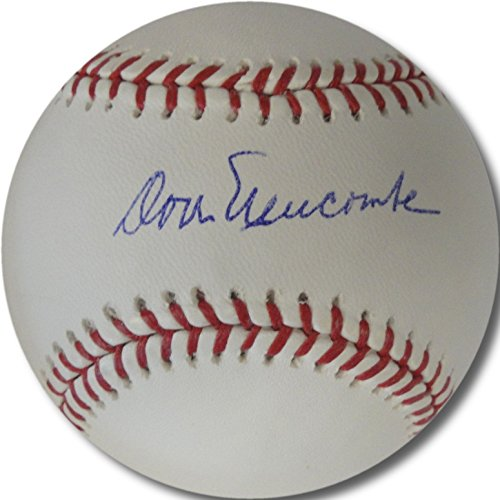 Don Newcombe Hand Signed Autographed MLB Baseball Los Angeles/Brooklyn Dodgers