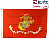 Cheap 3×5′ US Marine Corps All- Weather Nylon Outdoor Flag Made In USA