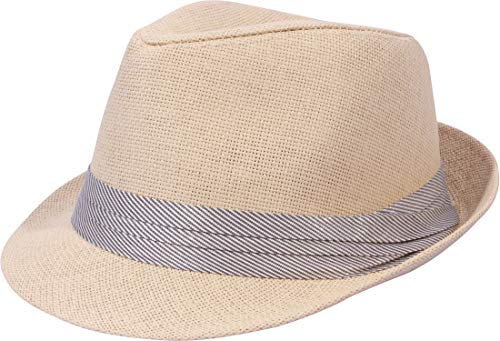 Enimay Unisex Vintage Fedora Hat Classic Timeless Light Weight