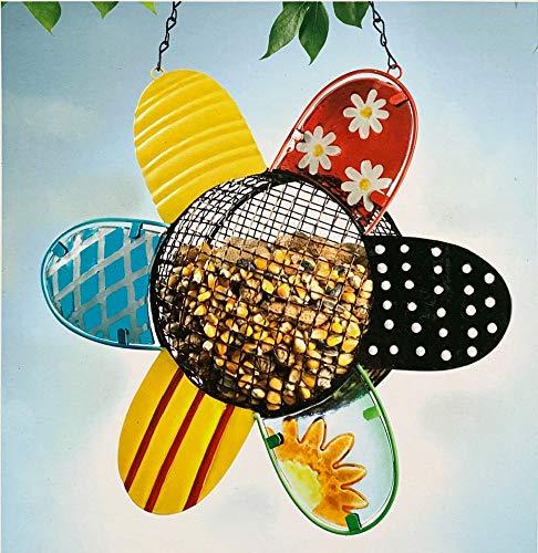 (Myco's Best Modern Sunflower Hanging Bird Feeder Cardinals)