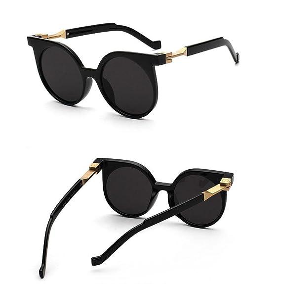 Z&YQ Occhiali da sole Fashion Vintage Style Round frame Polarized UV400 Unisex Driving travel Eyewear , G