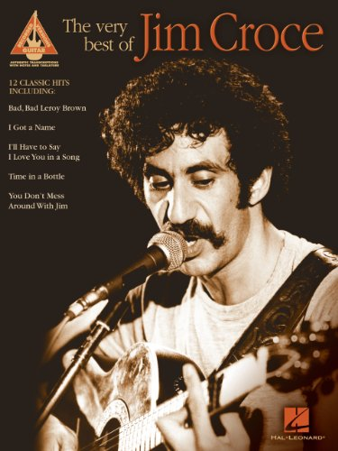 The Very Best Of Jim Croce Songbook Kindle Edition By Jim Croce