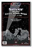 BCW Silver Comic Mylar Bags 4 Mil - Comics, Comic