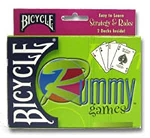 US Playing Card Company Rummy, Bicycle (2 Decks)