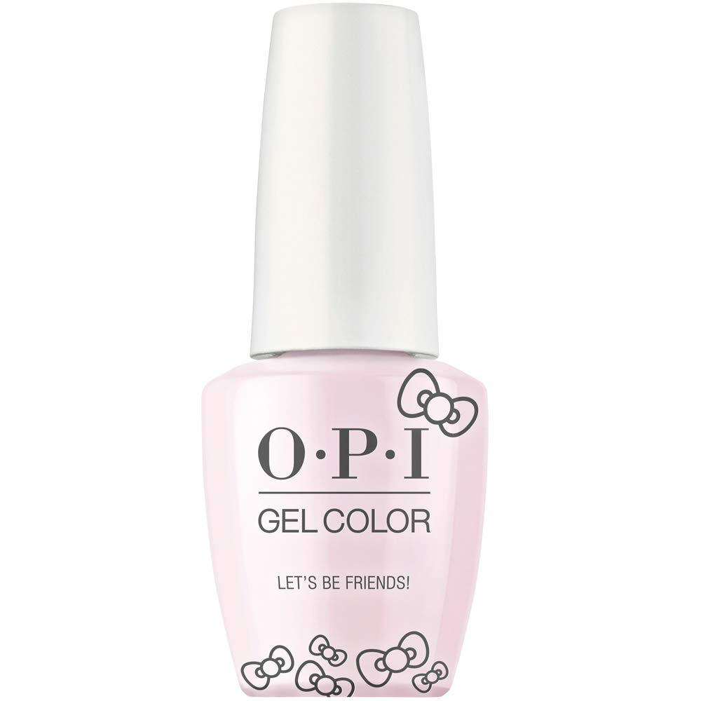 Opi Hello Kitty Gel Color, Let's Be Friends!, 0.5 Fl Oz by OPI