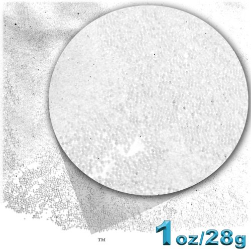 1oz = 28g Plastic Microbeads  Nohole 0.6 - Transparent Crystal Shopping Results