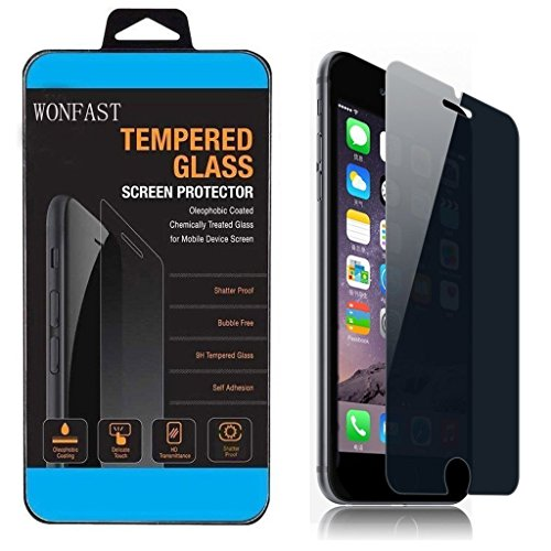 iPhone 6 Plus /6S Plus (5.5 Inch) - Tempered glass screen protector Privacy, Gravydeals® Anti-spy Anti-shatter Tempered Glass Film for iPhone 6 Plus /6S Plus 5.5 Inch Photo #5