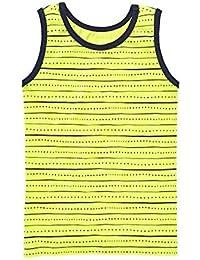 Boys Limeade Stripe Tank 5/6