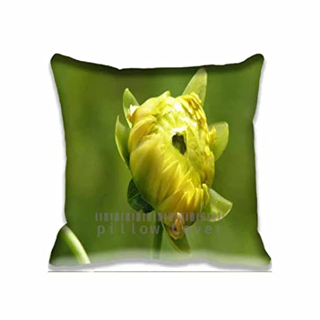 Amazon Macro Little Dahlia Custom Pillowcase Standard Size