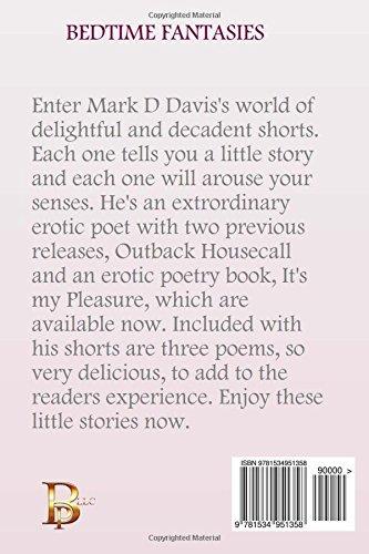 Bedtime Fantasies An Anthology Of Short Erotic Stories Mark D Davis  Amazon Com Books