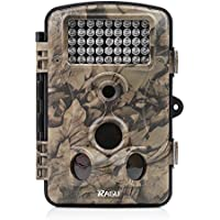 RAGU Trail Camera 12MP 1080P HD Infrared Night Vision, Game Camera with Time Lapse/ 65ft 120/ 42pcs IR LED/ 2.4 LCD Screen, Hunting Camera Scouting for Security Surveillance