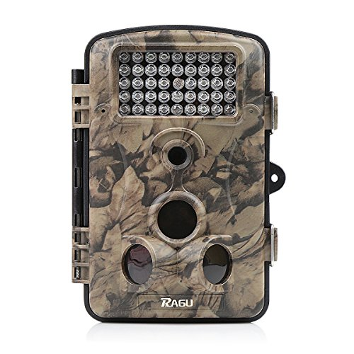 Distianert Game and Trail Camera 12MP 1080P HD Hunting Camera Deer Camera Wildlife Camera with 42 Pcs IR LEDs for Clear Night Version, 120 Wide Angle, 2.4' LCD Display, Waterproof Infrared Camera