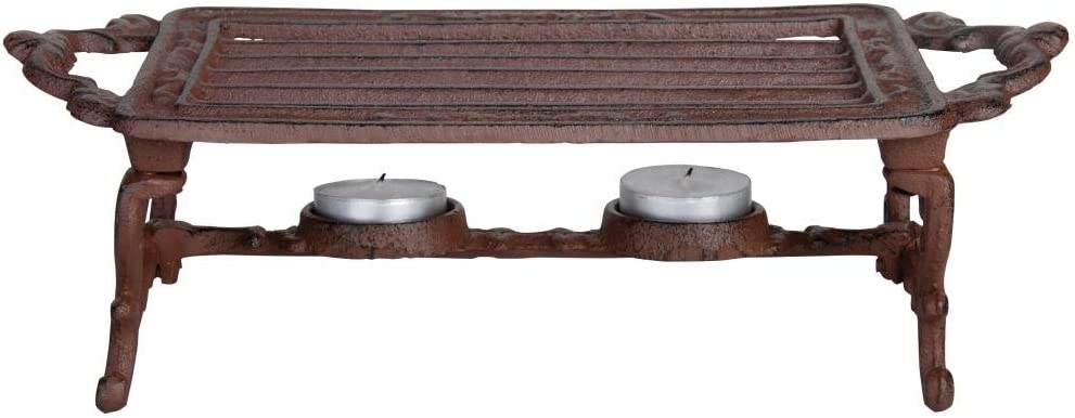 Esschert Design USA Cast Iron Heating Plate