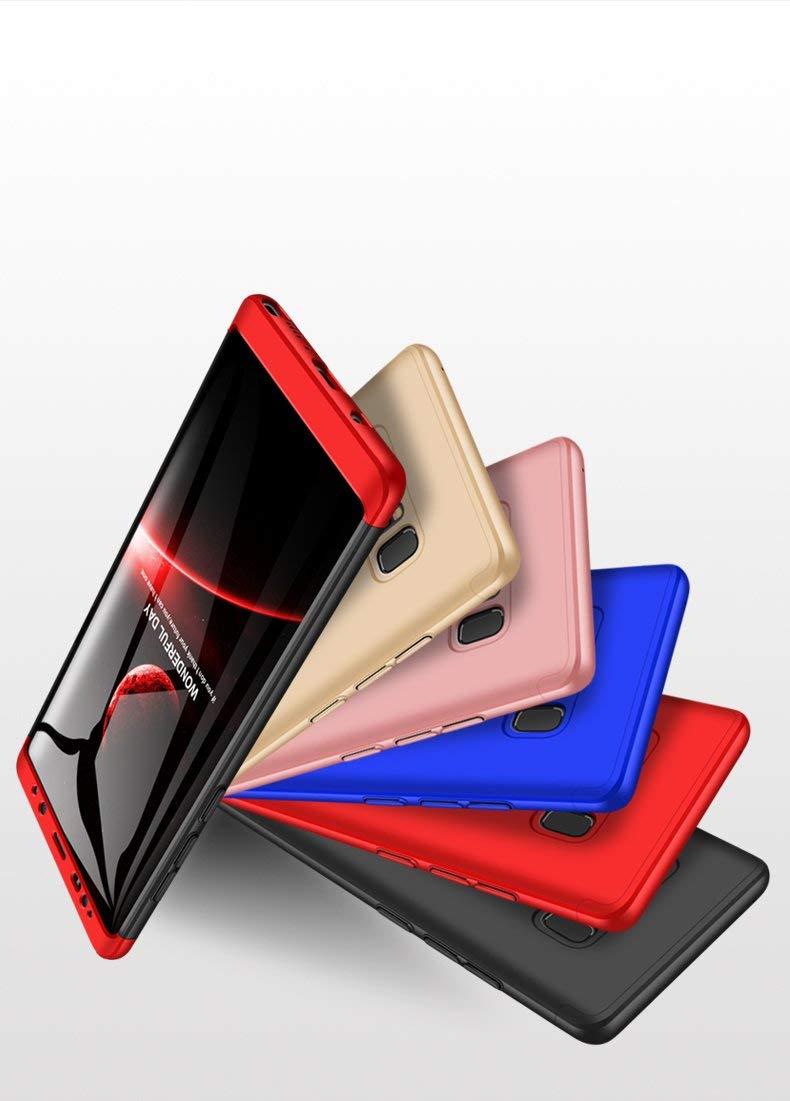 Negro 2X Vidrio Templado sigua Funda Compatible para Huawei Mate 10 Carcasa Caja Material de PC a Prueba de Golpes Caja Ultra-Delgado Anti-Golpes Caso,con Caja de Regalo