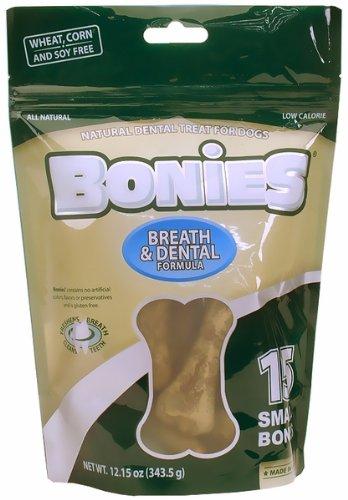 BONIES Natural Dental Bones Multi-Pack SMALL (15 Bones / 12.15 oz)