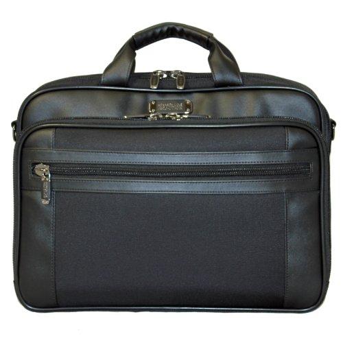 (Kenneth Cole Reaction R-Tech EZ-Scan Laptop Notebook Computer Briefcase - Black)