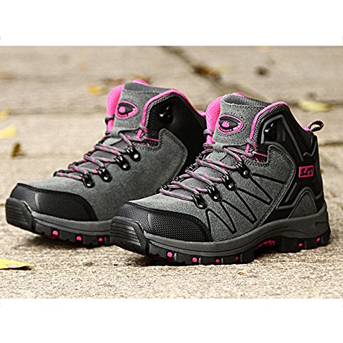 Women Hiking Sports Mesh Trekking Shoes Shoes Walking Shoes Lightgray Lightweight Top snfgoij Hiking High Shoes Outdoor Ladies Shoes xAn41wt