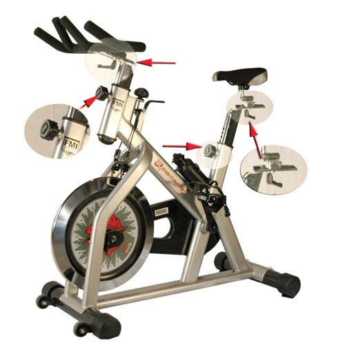 Fitness Master X Series Momentum Indoor Cycling Bike Fitnex