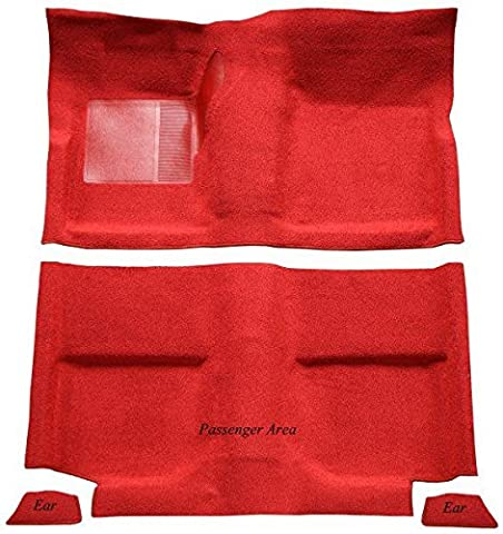 2001 to 2007 Chrysler Town and Country Van Carpet Custom Molded Replacement Kit, Without Stow and Go, Complete Kit (2005-Orange Neon - Country Van Carpet