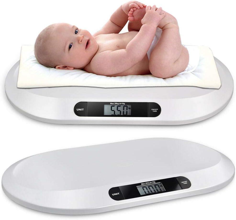 20KG//44LBS Elektronische Baby Waage Kinderwaage Babywaage Digital Tierwaage