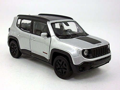 Welly 4.5 Inch Jeep Renegade Trailhawk Scale Diecast for sale  Delivered anywhere in USA