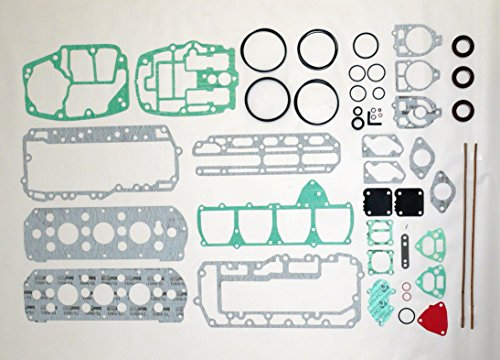 MERCURY 75-85 HP 4 Cyl. Complete Power Head Gasket Kit WSM 500-209 OEM# 27-73645A87 ()