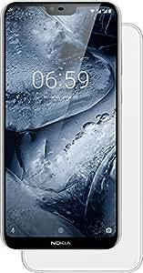 Nokia 6.1 Plus Dual Sim - 64GB, 4GB RAM, 4G LTE, White