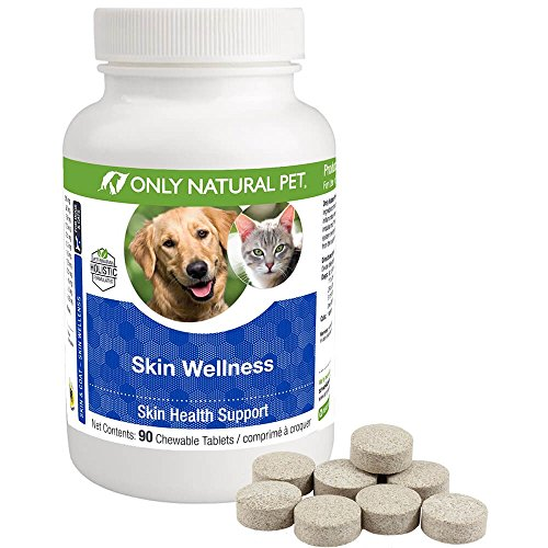 Only Natural Pet Skin Wellness Chewable Tablets 90 Count