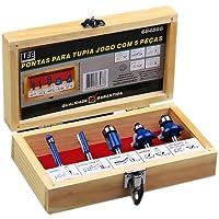 Jogo de Fresas para Tupia com 5 Peças Azul 684866 Lee Tools