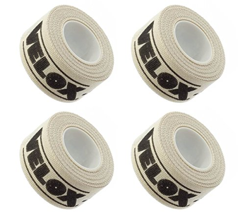 Velox Adhesive Cloth Rim Tape 16mm Width (4-Pack) by Velox