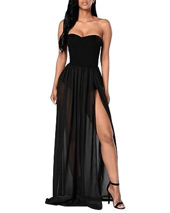 Schlichte abendkleider schwarz