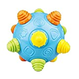 #8: Novelty Bouncing Toy Ball, Music Electric Bounce Dancing Toy Ball for Kids Gift