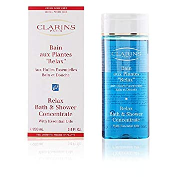 CLARINS by RELAX BATH SHOWER CONCENTRATE 6.8 OZ 200 ML