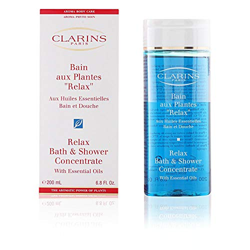 CLARINS by RELAX BATH & SHOWER CONCENTRATE 6.8 OZ (200 ML)