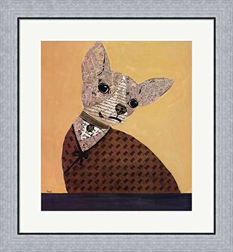 Paper Trained VI by Karen Dupre Framed Art Print Wall Pictur