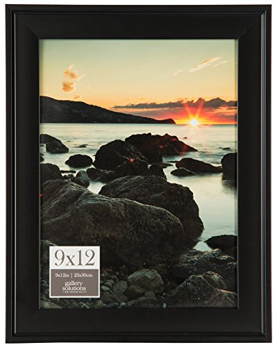 Pinnacle Frames and Accents 9x12 Black Digital Photo Frame 9