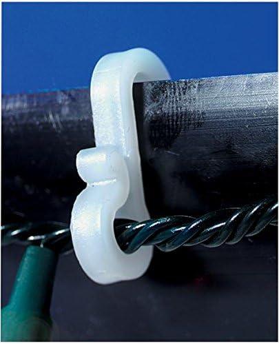 Hooks for Christmas Fairy Lights 50 Pack Gutter Clips
