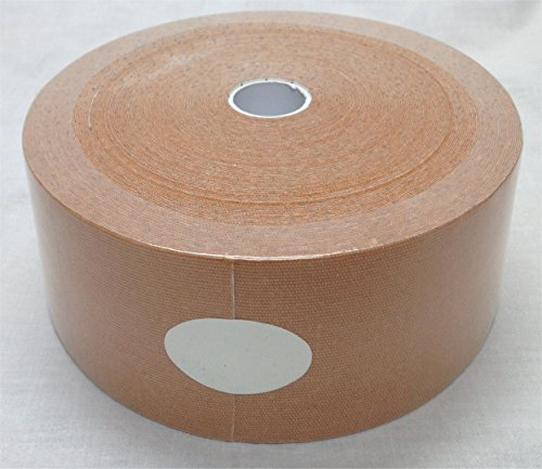 Therapist's Choice® Extra Wide Kinesiology Tape 3'' x105' Bulk Roll (Beige) by Therapist's Choice®