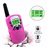 Kids Toys Walkie Talkies for Girls Children Youth Toys for 3-12 Year Old Girls Gift Birthday Present Pink