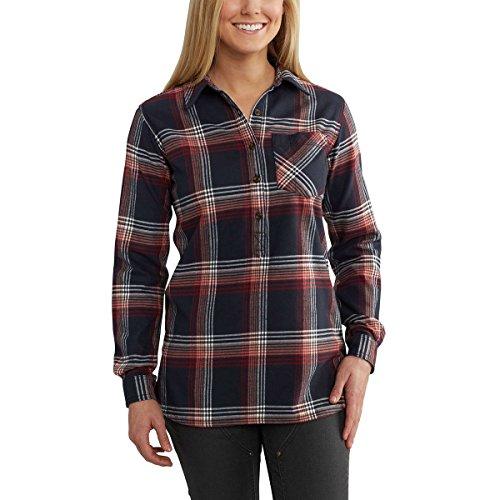 マークされた印象的失望させるカーハート トップス シャツ Farwell Shirt Navy 20b [並行輸入品]