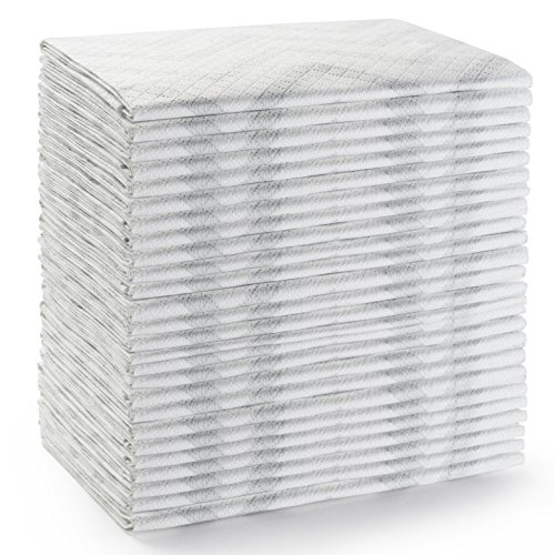 25 Large Disposable Baby Diaper Changing Pads 100 Leak