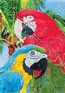 BreezeArt Tropical bellezas jardín bandera 33404