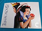 Disney 2016 Snow White and The Seven Dwarfs Lithograph Set of 4