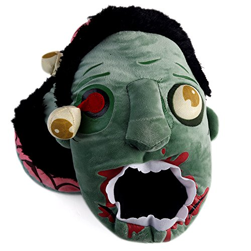 Bei wang Plush Zombie Slippers / Ravenous Zombie Warm Slippers
