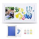 DIY Family Photo + Family Hand/Footprints Kit