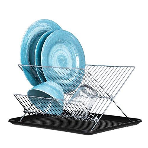 Dish Drying Rack – X Dish Drying Rack - Two Tier Dish Rack