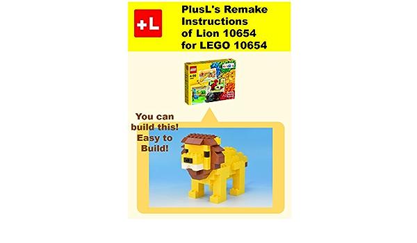 PlusLs Remake Instructions of Lion 10654 for LEGO 10654 ...