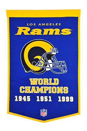 - Winning Streak NFL St. Louis Rams Super Bowl Banner