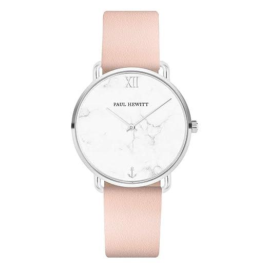 Paul Hewitt Miss Ocean Line Marble - Reloj de Pulsera para Mujer (Acero Inoxidable,